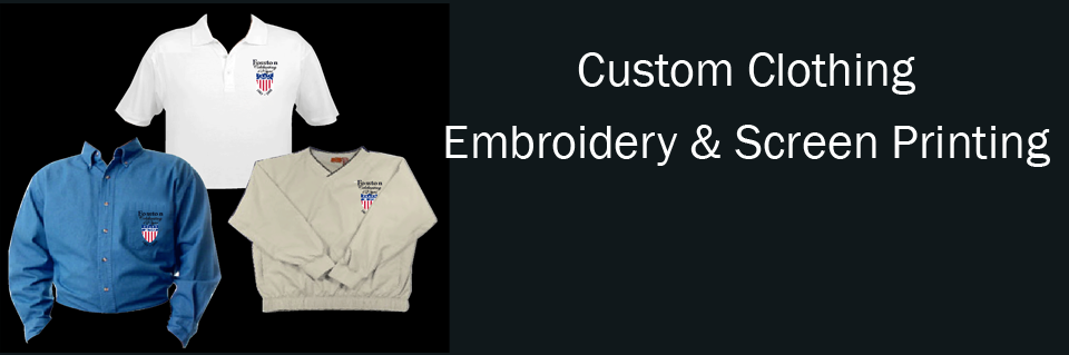 Custom Clothing - Embroidery and screen printing - Hats